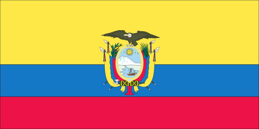 flag, country, ecuador